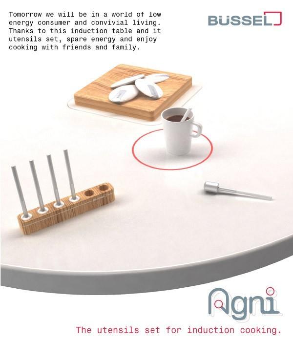 Agni Set de utensilios de cocina de inducción