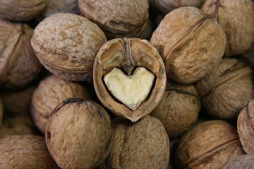 La nueces son buenas para la salud