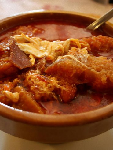 Sopas de ajo tradicionales