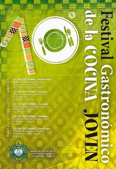 Cartel del VIII Festival Gastronómico Venta Magullo