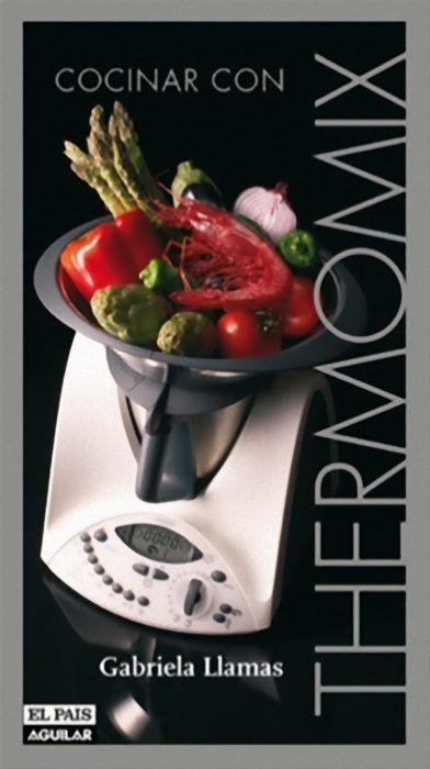 Portada del Libro Cocinar con Thermomix de Gabriela Llamas