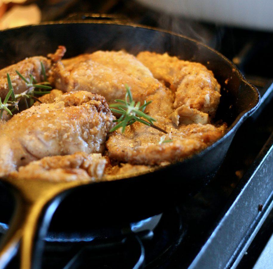 Conejo con Salmorejo, una receta típica de canarias