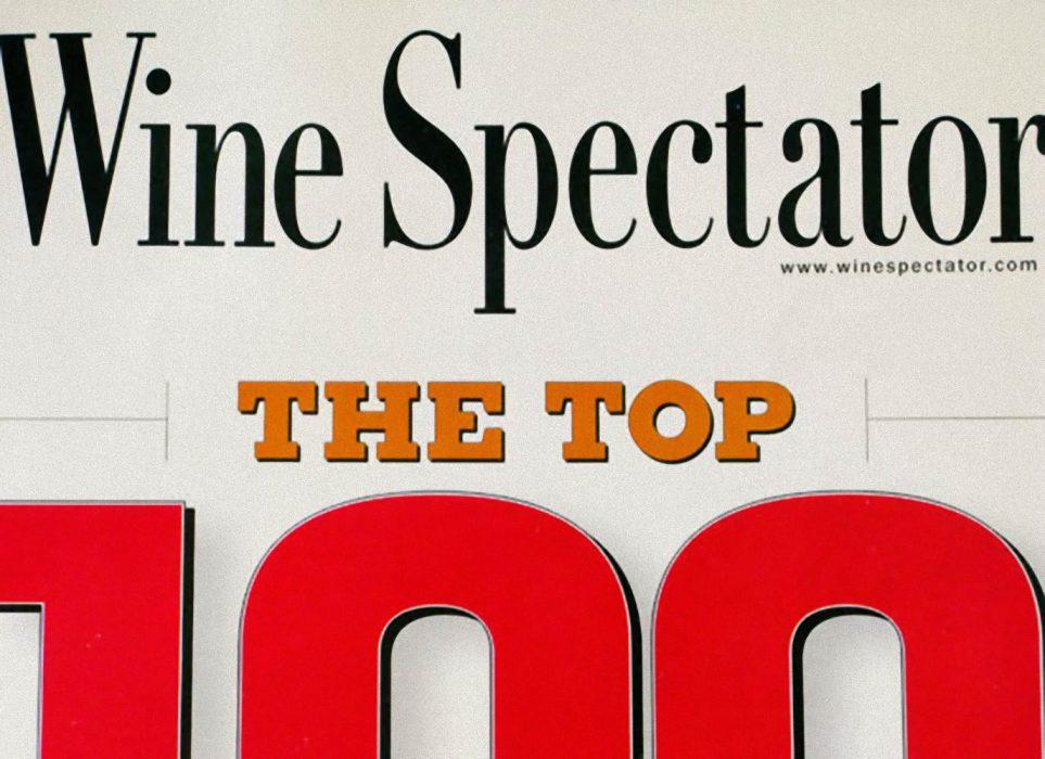 Lo 100 mejores vinos segun Wine Spectator