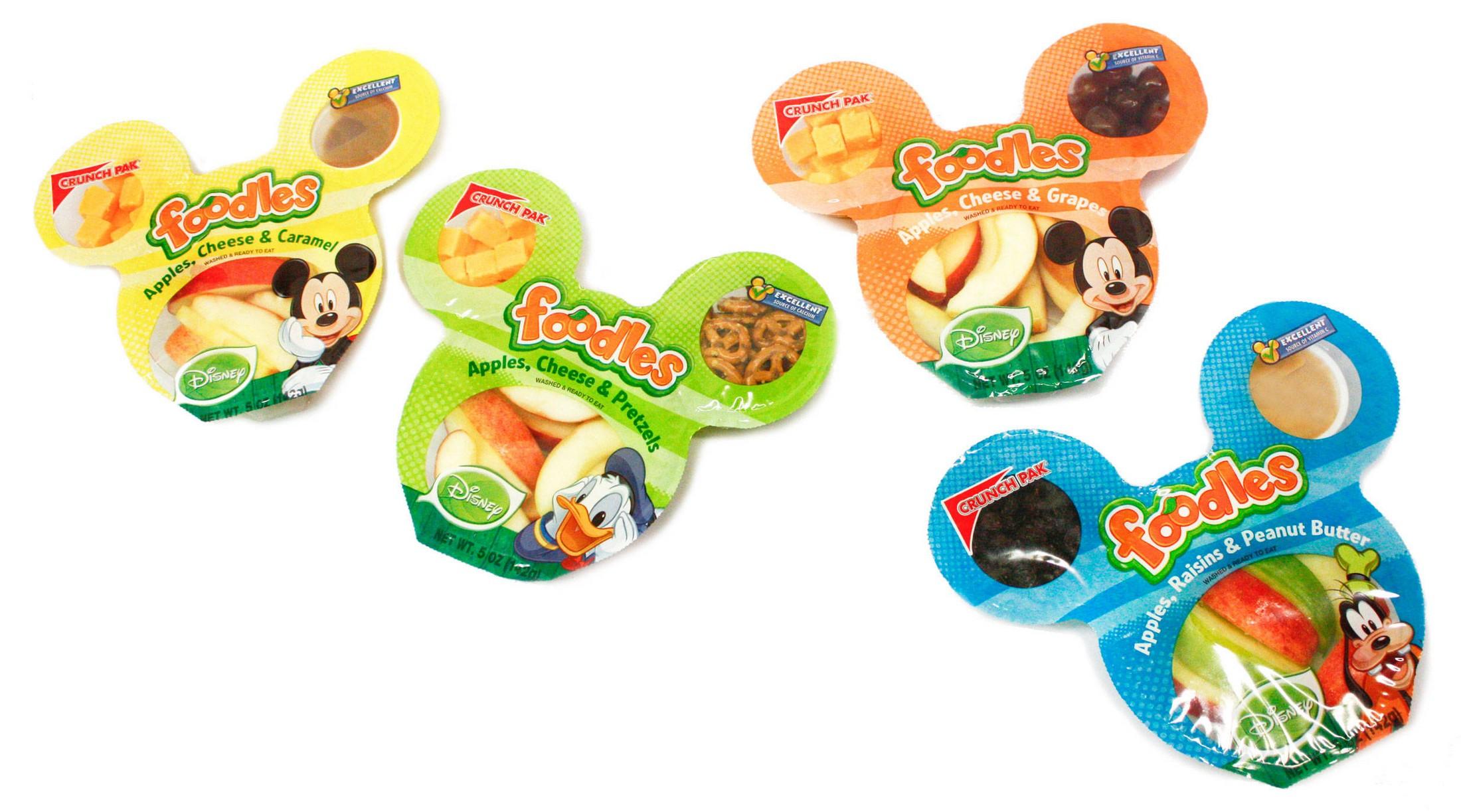 Fruta de disney para niños