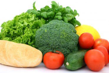 Verduras y vegetales, comida saludable