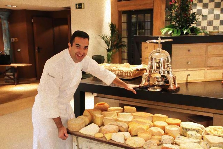Oscar Velasco, el cocinero segoviano