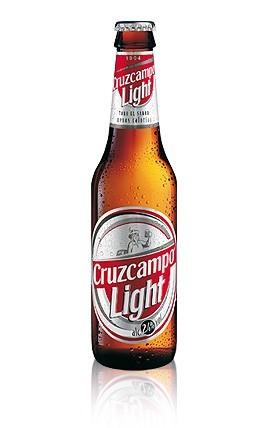 Cerveza Cruzcampo Light 1