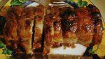 Receta de Lomo de cerdo glaseado con zumo de naranja