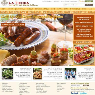 pagina web de latienda.com