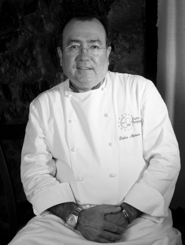 """Pedro Morán, cocinero de """"Casa Gerardo"""""""