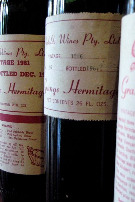 Vino australiano  Penfold's Garnge