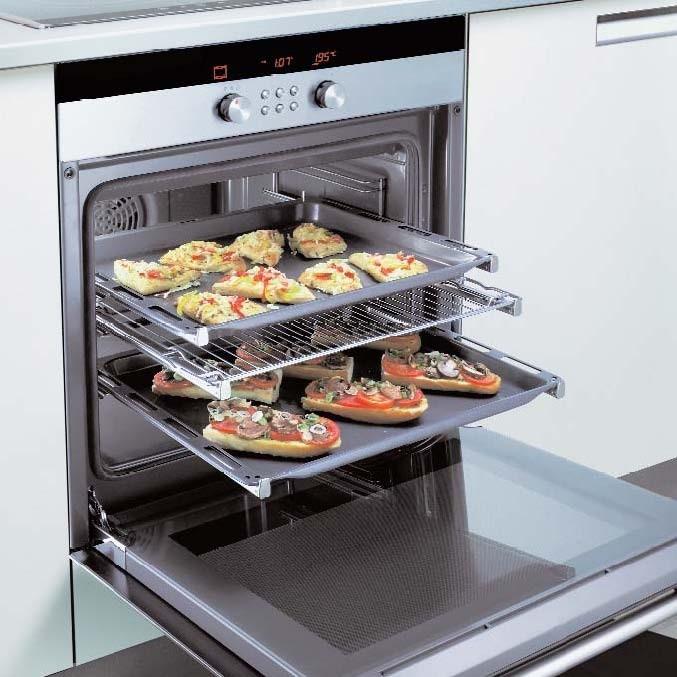 Merece la pena el sistema de carro extraible en los hornos - Hornos para cocinas ...