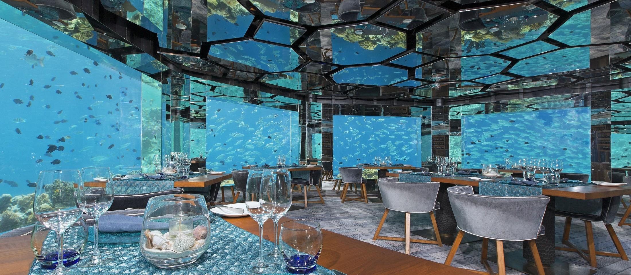 Ithaa Undersea Restaurant, Rangali Island