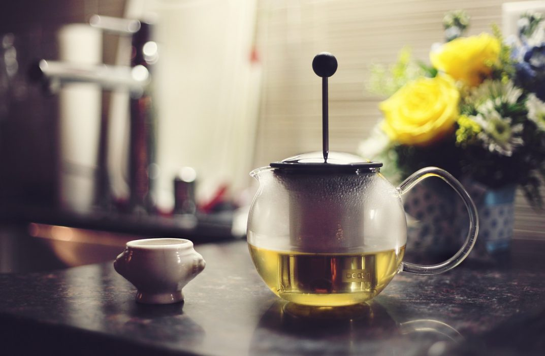 Tetera té verde