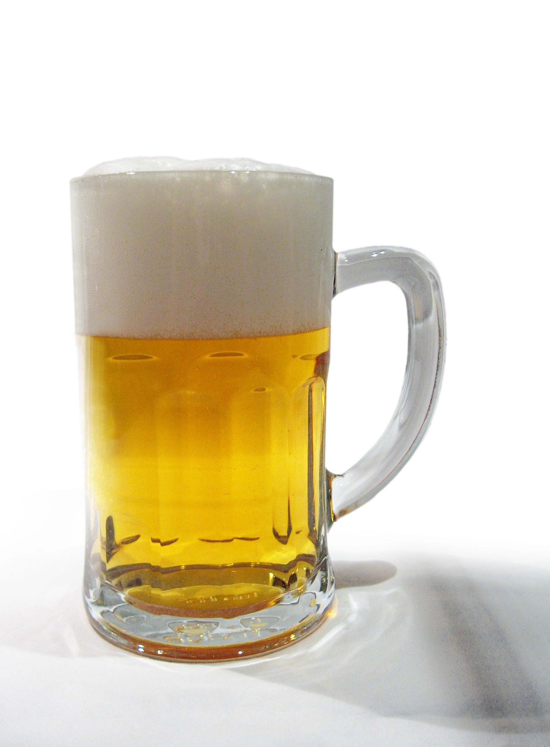 Una buena caña de cerveza