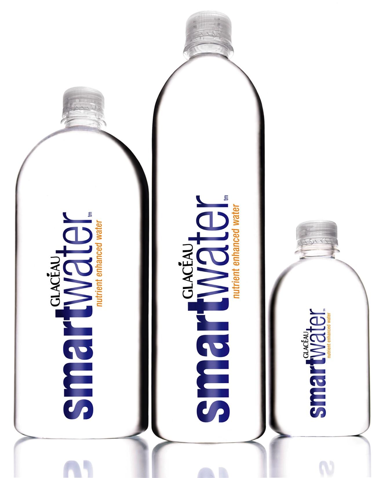 Bebida energetica Smartwater de 'Glacéau'