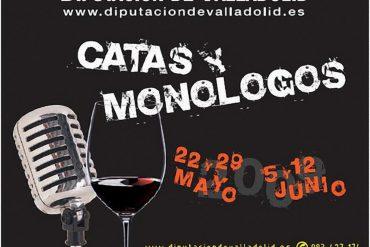 Catas y Monólogos Cartel