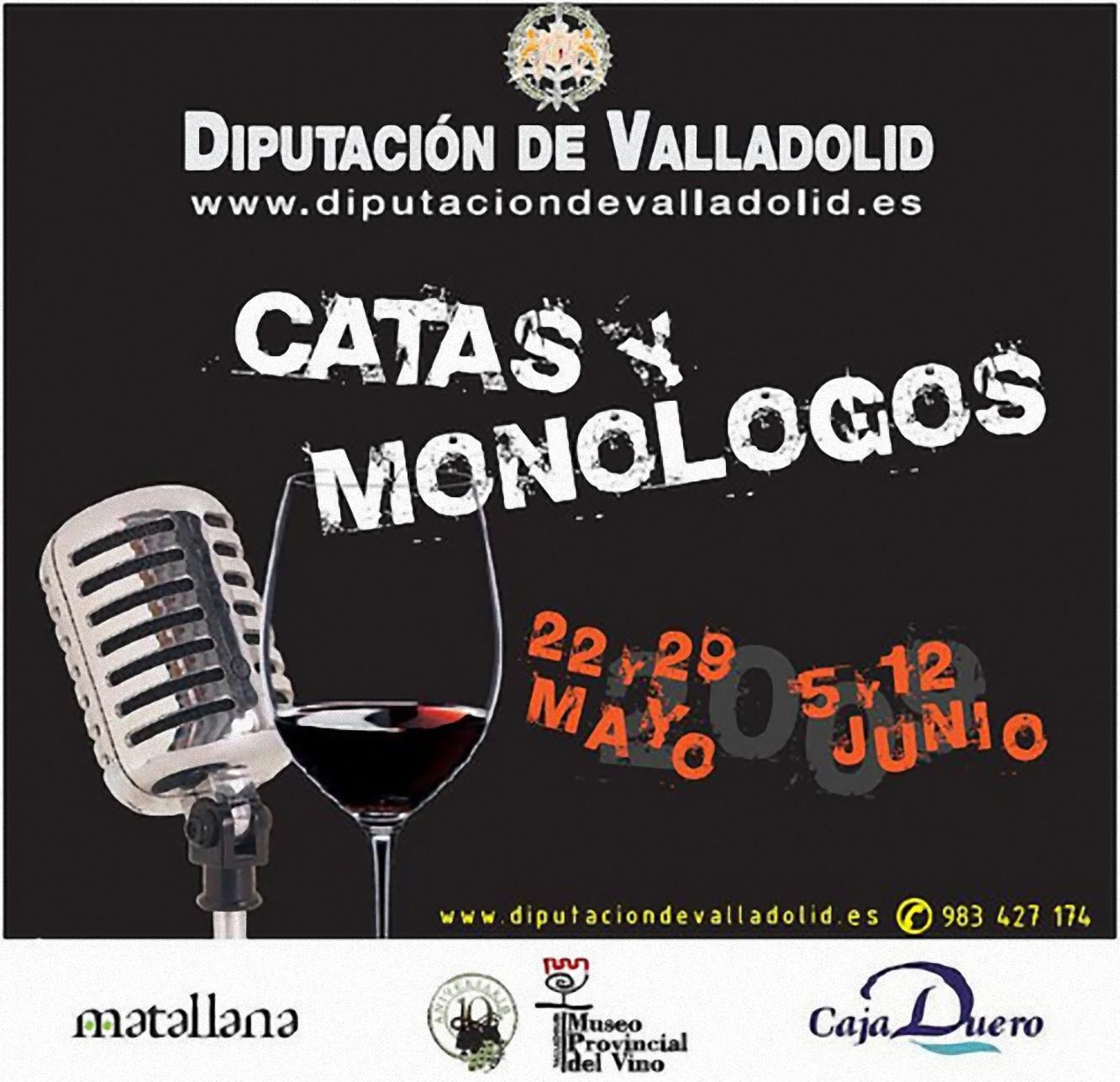 Catas y Monólogos Cartel