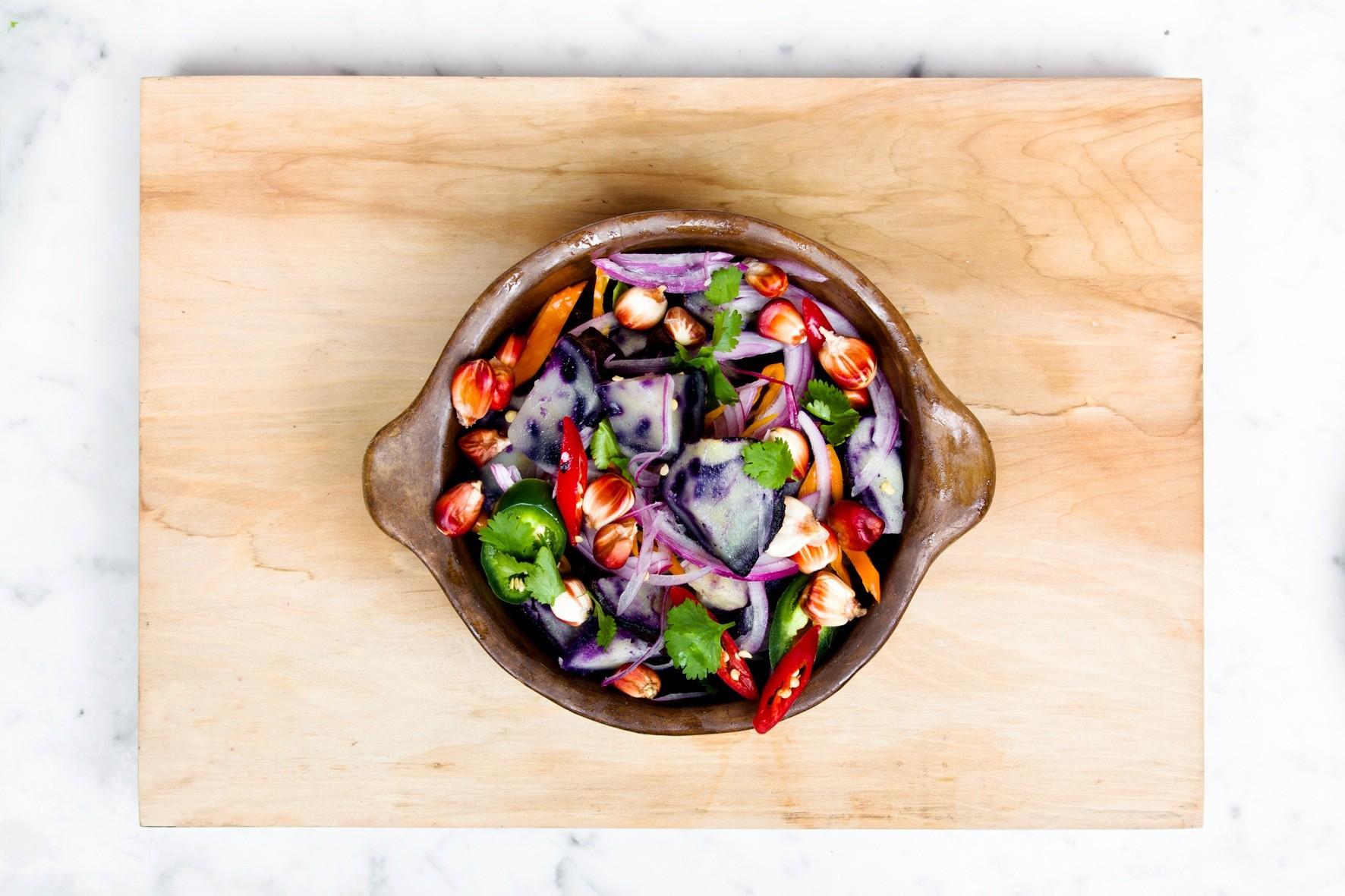 Comida saludable vegetales