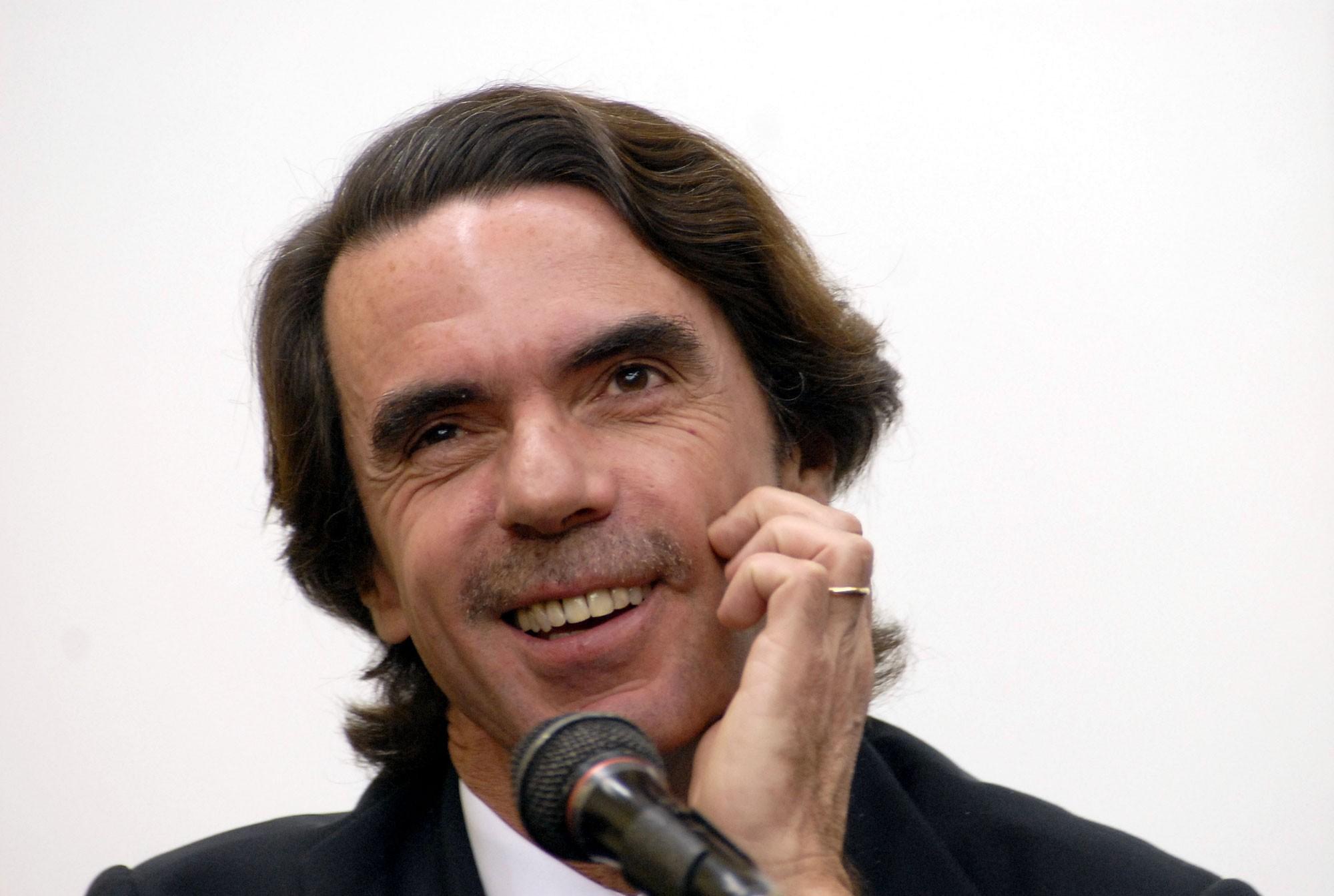 El ex presidente del Gobierno, José María Aznar