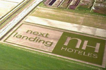 NH Hoteles despliega el mayor anuncio de Europa