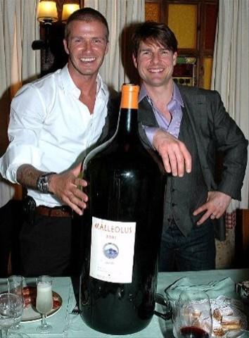 Beckham, Cruise y un Malleolus de 27 litros