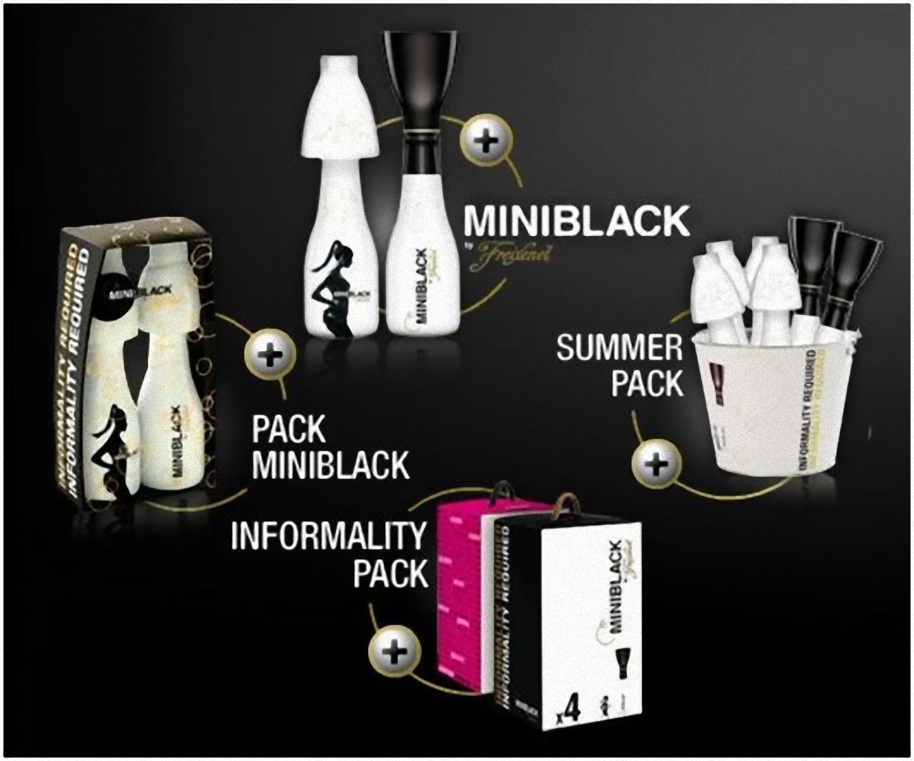 Miniblack by Freixenet