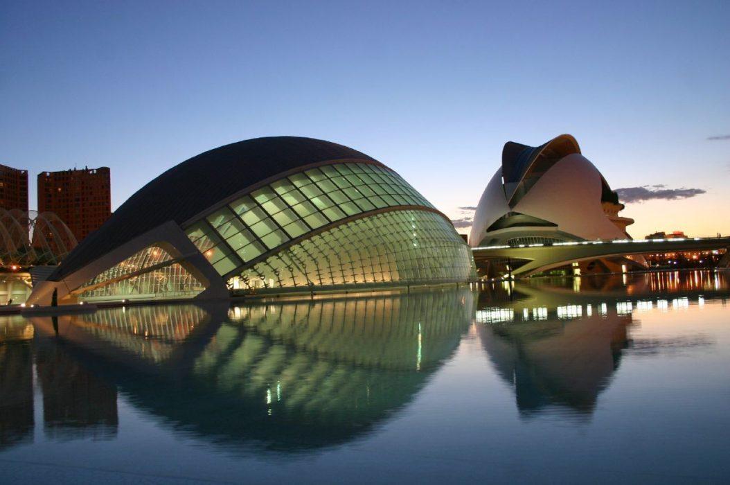 La Ciudad de Las Artes y Las Ciencias (CAC) de Valencia