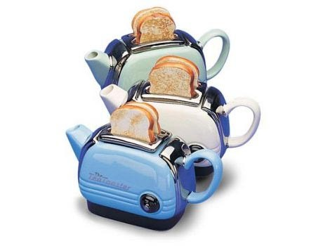 "Toaster Teapot,  la ""Tetera tostadora"""