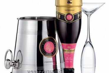 Champán Rosé Sauvage Piper Heidsieck por Viktor & Rolf