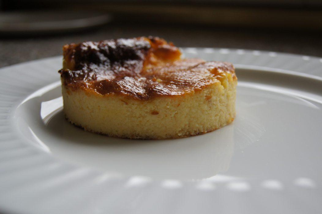 Receta de tarta de queso fácil y rápida