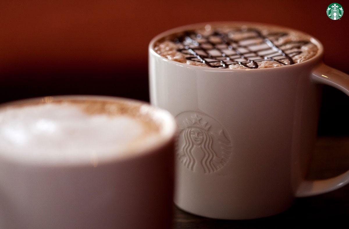 Starbucks taza cafe