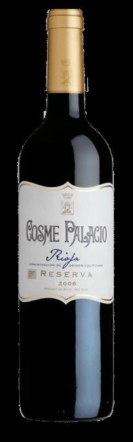 Vino D.O. Rioja Cosme Palacio 2005