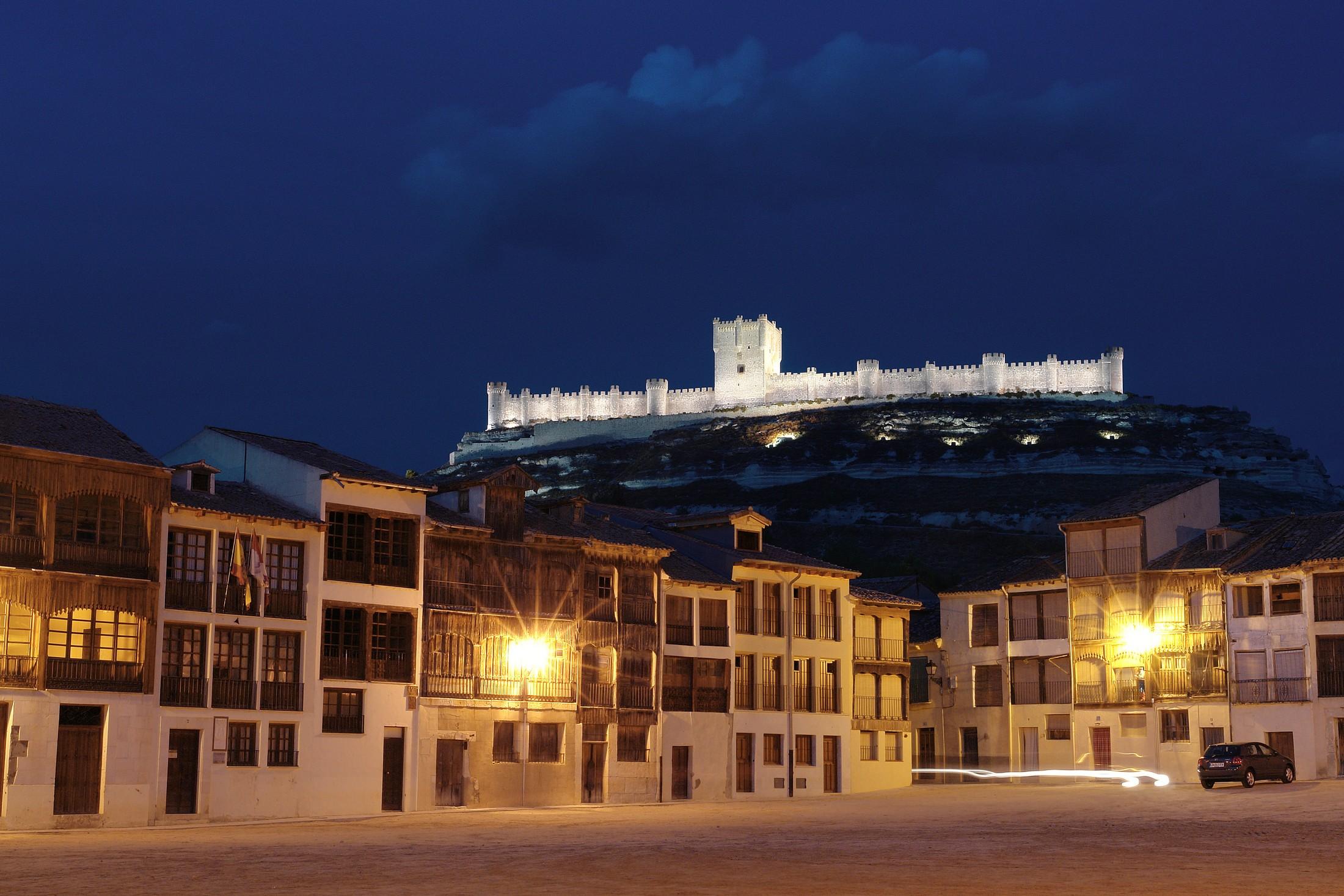 Castillo y coso de Peñafiel