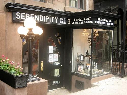 el restaurante Serendipity 3 de Nueva York