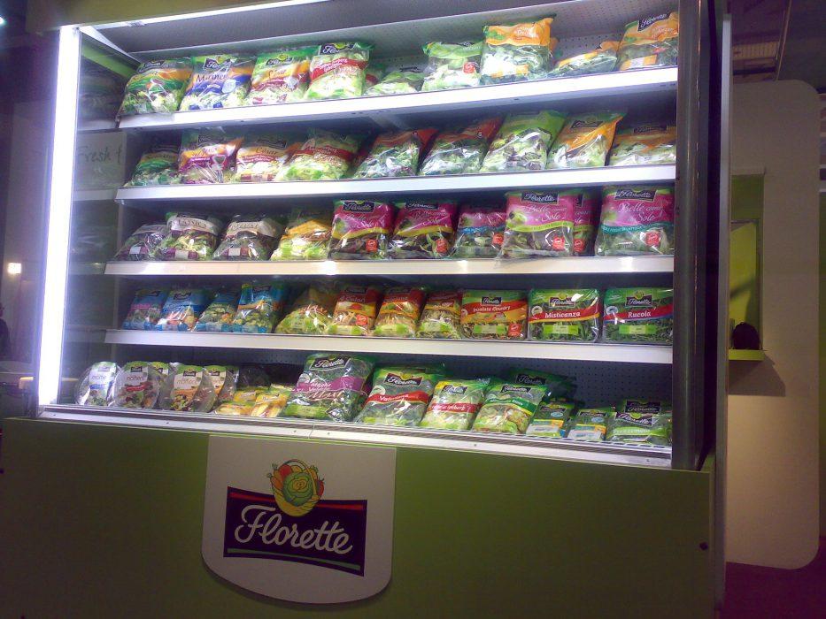 Florette en lineal del supermercado
