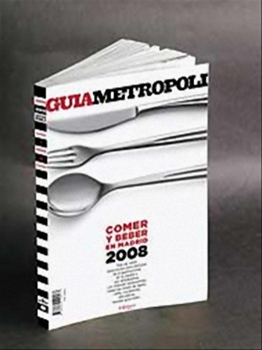 """Guía Metrópoli """"Comer y beber en Madrid 2008"""""""