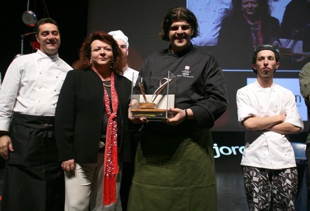 """Ilario Vicinguerra ganador del V Premio Internacional de Cocina con Aceite de Oliva """"Jaén, paraíso interior"""""""