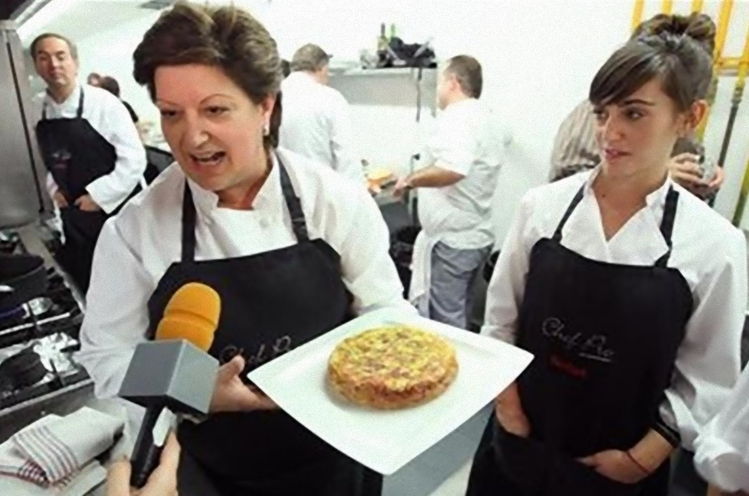 Cesi Cabello del Mesón San Martín en Simancas - la mejor tortilla de patatas del mundo