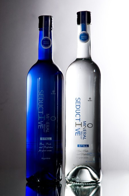 Seductive Mineral Water botellas