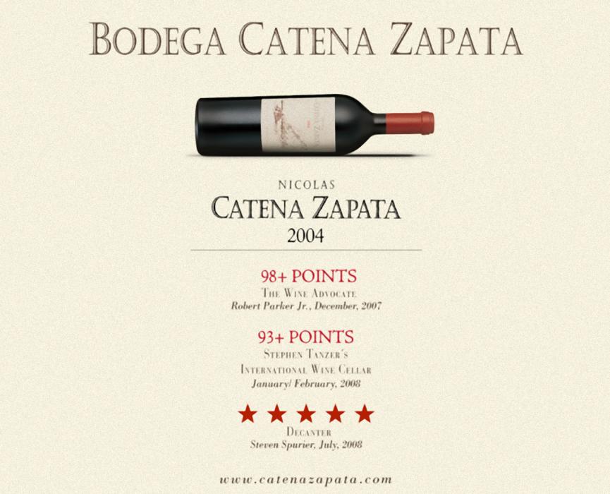 Catena Zapata 2004
