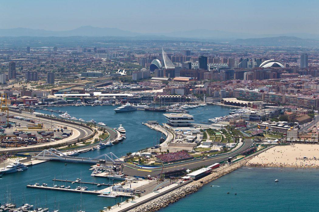 circuito de Valencia de F1