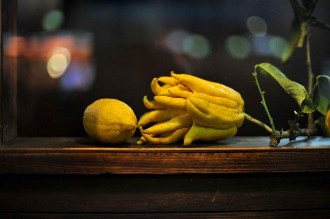La mano de Buda, el limón más curioso