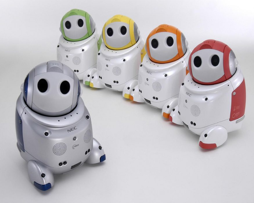 PaPeRo, el robot sumiller