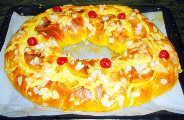 Roscón de Reyes, receta tradicional
