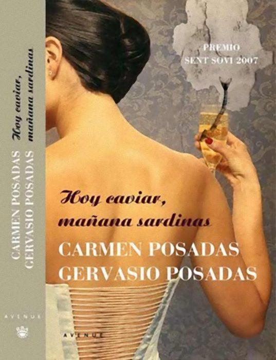 """Portada del libro """"Hoy caviar, mañana sardinas"""""""