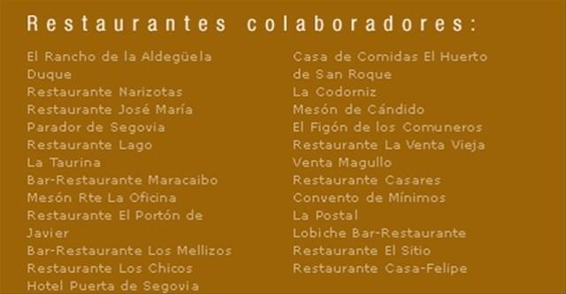 Restaurantes el Dorado