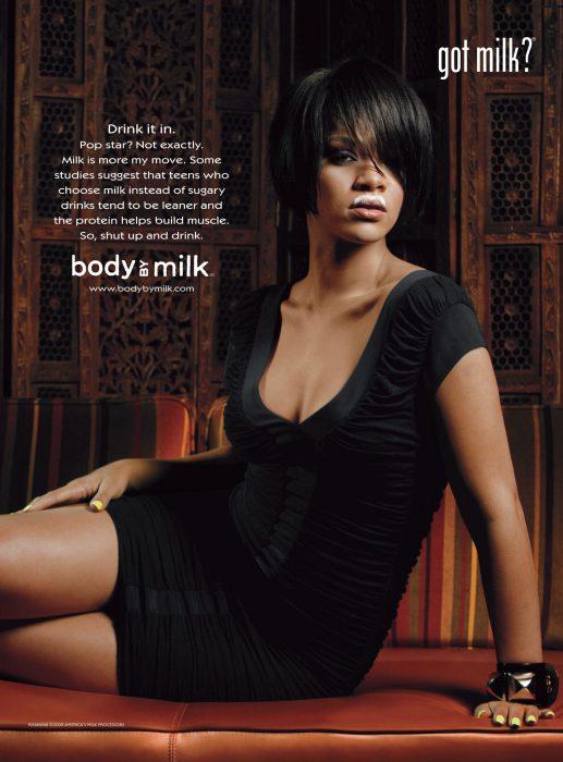 Rihanna got milk?