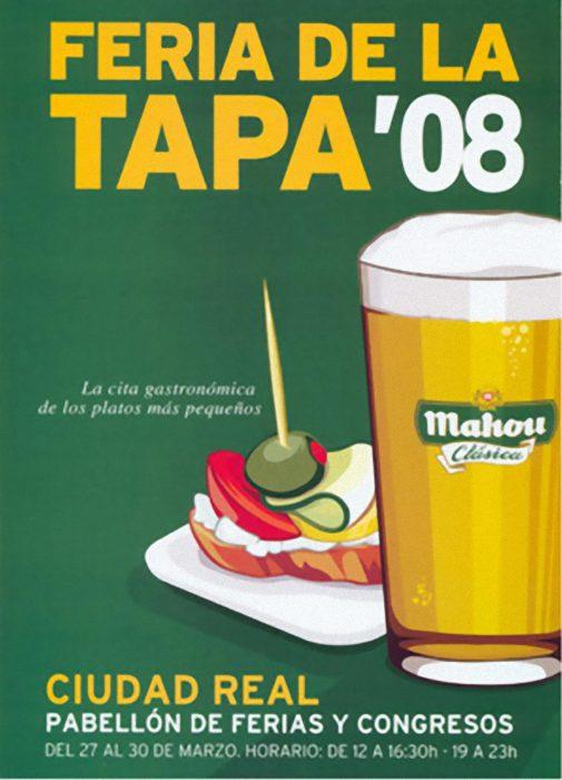 Cartel I Feria de la Tapa en Ciudad Real