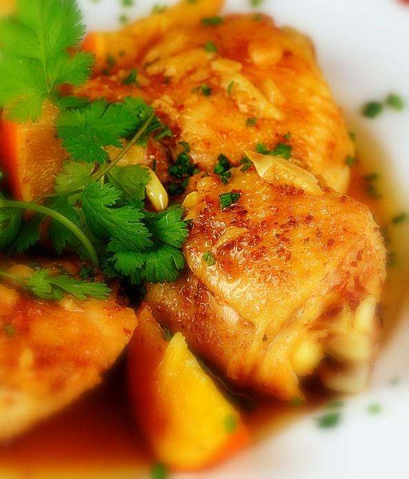 Receta De Pollo A La Naranja Con Aroma Al Jengibre